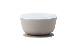 Flax Silicone Suction Bowl