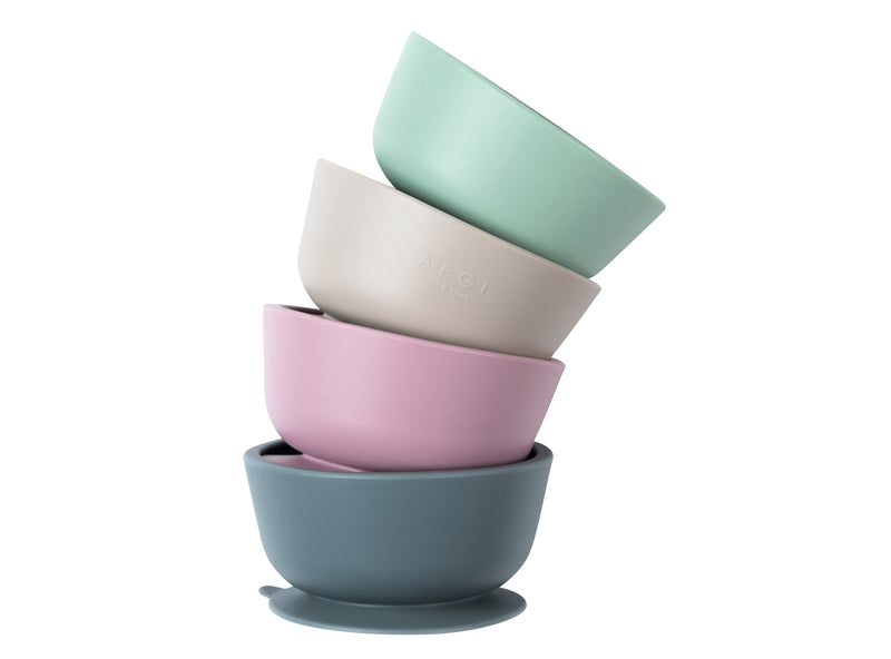 Sage Silicone Suction Bowl
