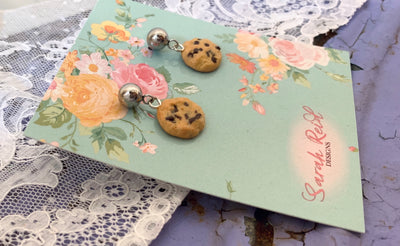 Chocolate Chip Cookie Studs