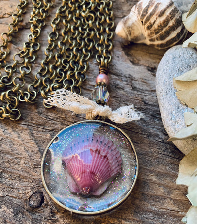 Beachcomber Seashell Necklace