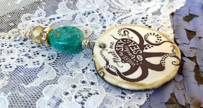 Octopus Quote Necklace
