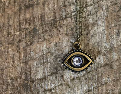 Coastal Waters Evil Eye Necklace