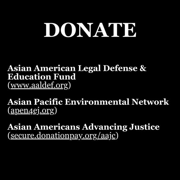How to donate to Stop Asian Hate