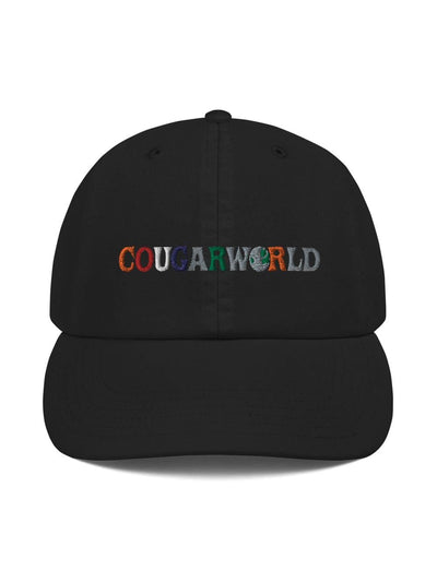 COFC Cougars Cougarworld Embroidered Champion Dad Hat - Geistwear