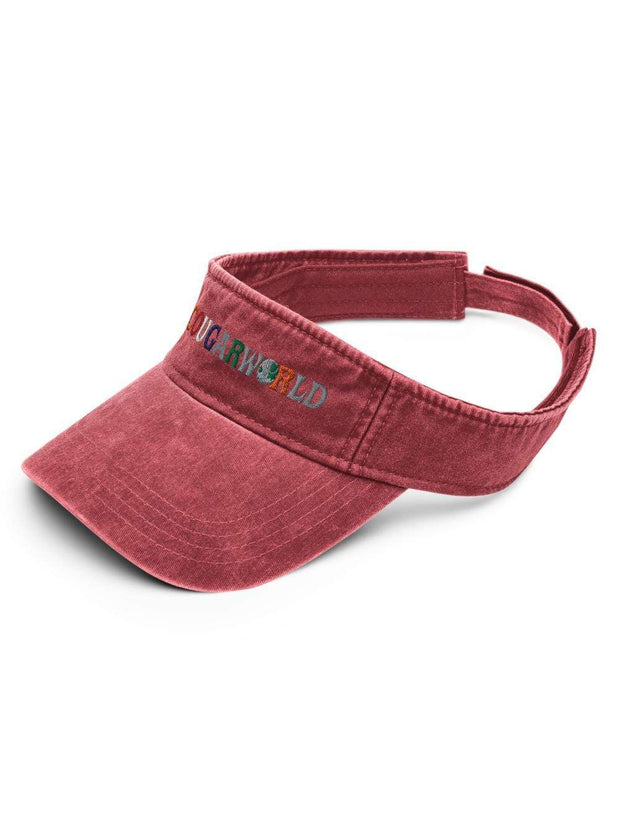 COFC Cougars Cougarworld Embroidered Denim Visor - Geistwear