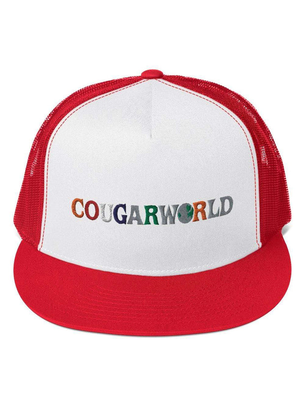 COFC Cougars Cougarworld Embroidered Trucker Cap - Geistwear