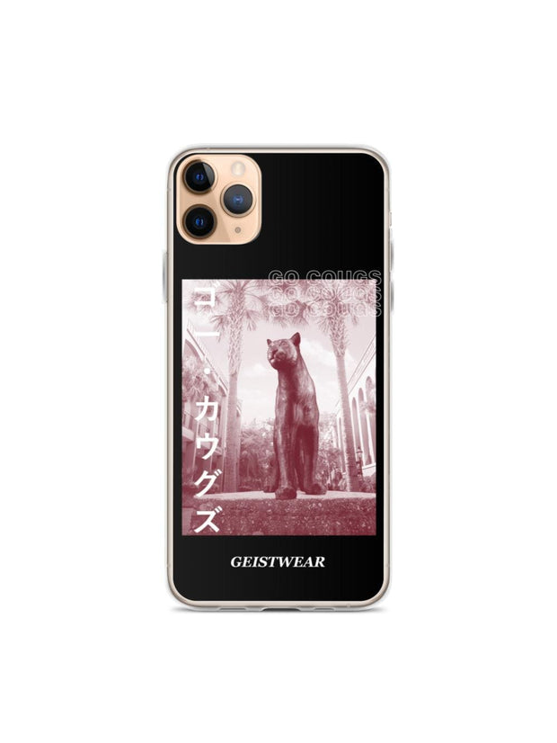COFC Cougars Go Cougs Katakana iPhone Case - Geistwear