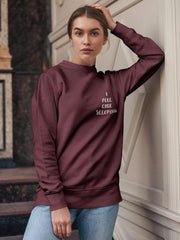 COFC Cougars I Feel Like Sleeping Sweatshirt - Geistwear