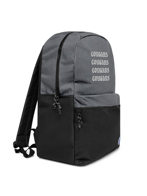 COFC Cougars Vintage Embroidered Champion Backpack - Geistwear