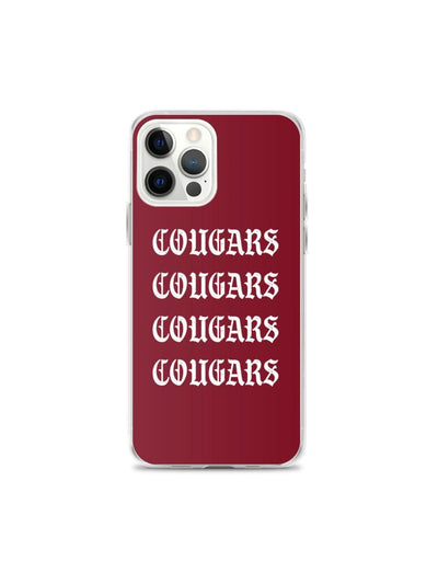 COFC Cougars Vintage iPhone Case - Geistwear