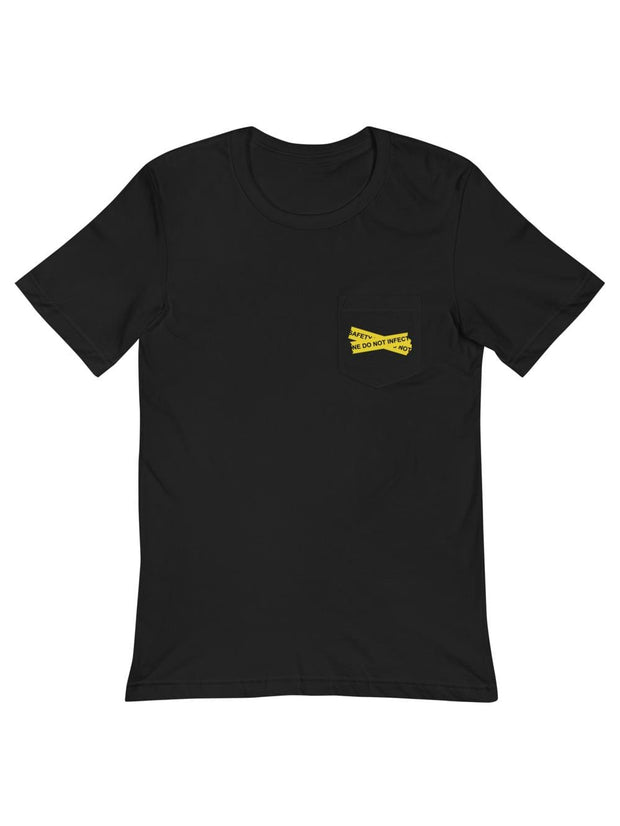 Comfy At Home Safety Line Pocket T-Shirt - Geistwear