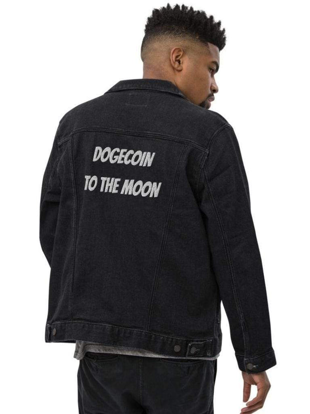 Dogecoin Denim Jacket - Geistwear