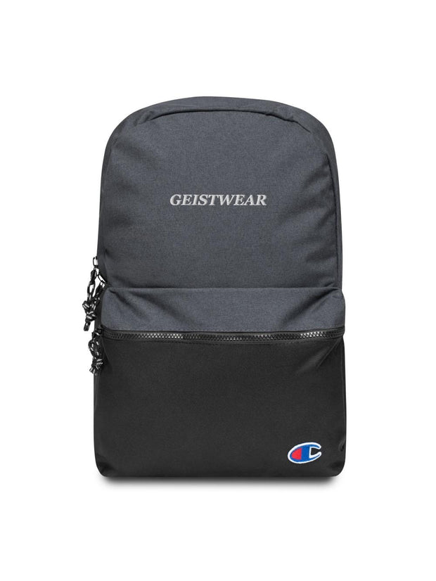 Geistwear x Champion Embroidered Backpack - Geistwear