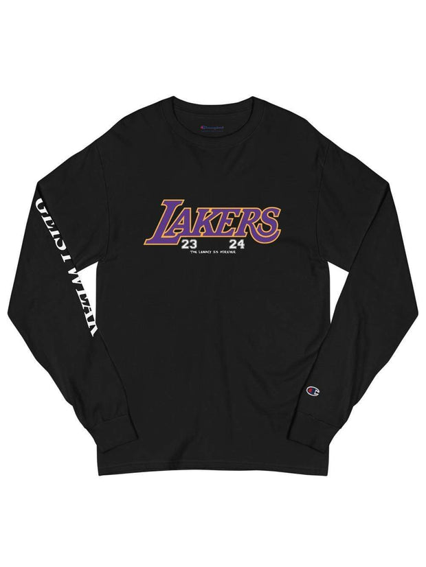LAKERS MAMBA Champion Long Sleeve Shirt - Geistwear