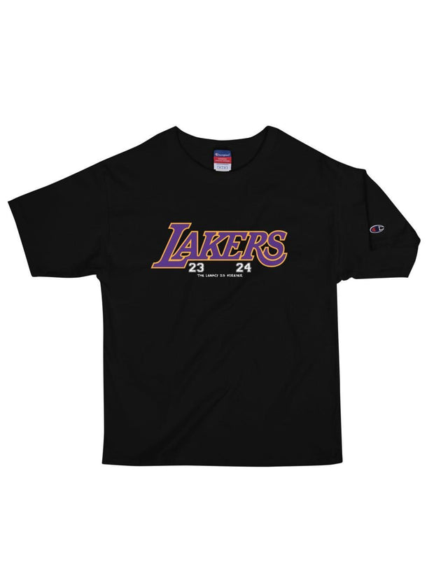 LAKERS MAMBA Champion T-Shirt - Geistwear