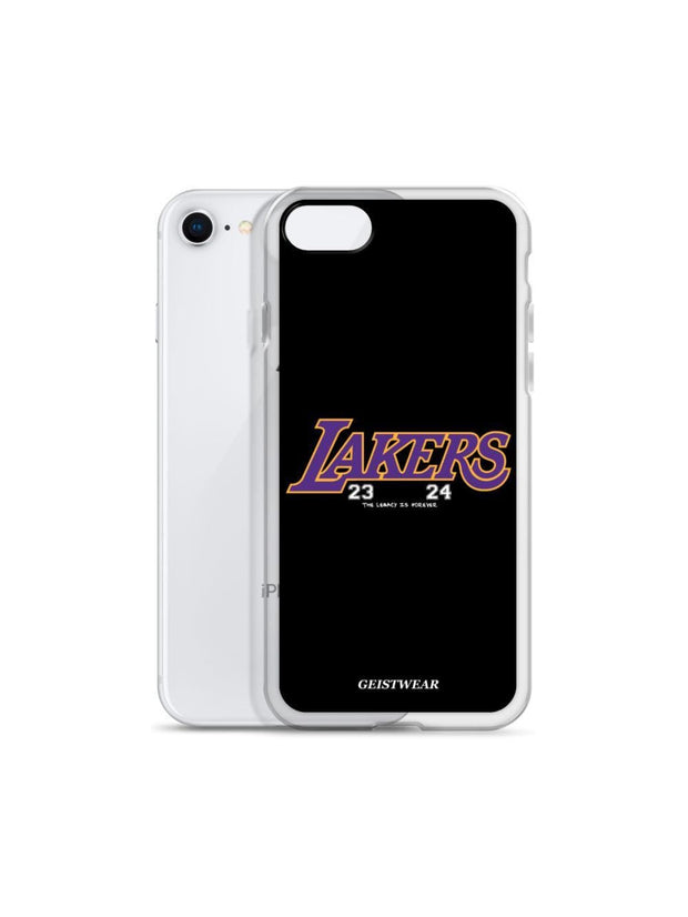 LAKERS MAMBA iPhone Case - Geistwear
