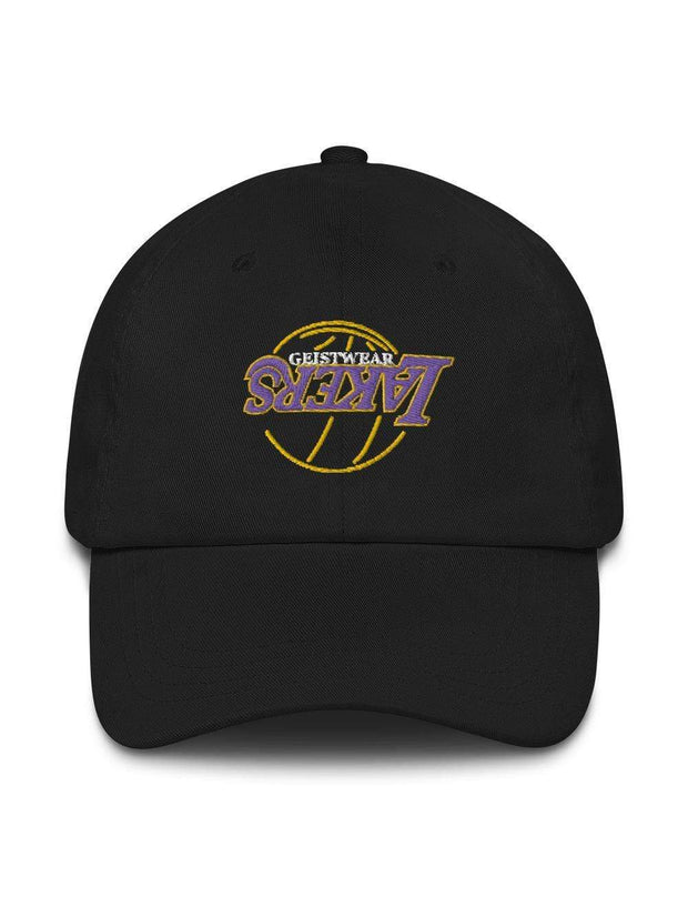 LAKERS NEON Embroidered Dad Hat - Geistwear