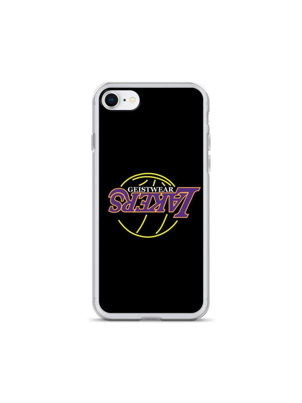 LAKERS NEON iPhone Case - Geistwear