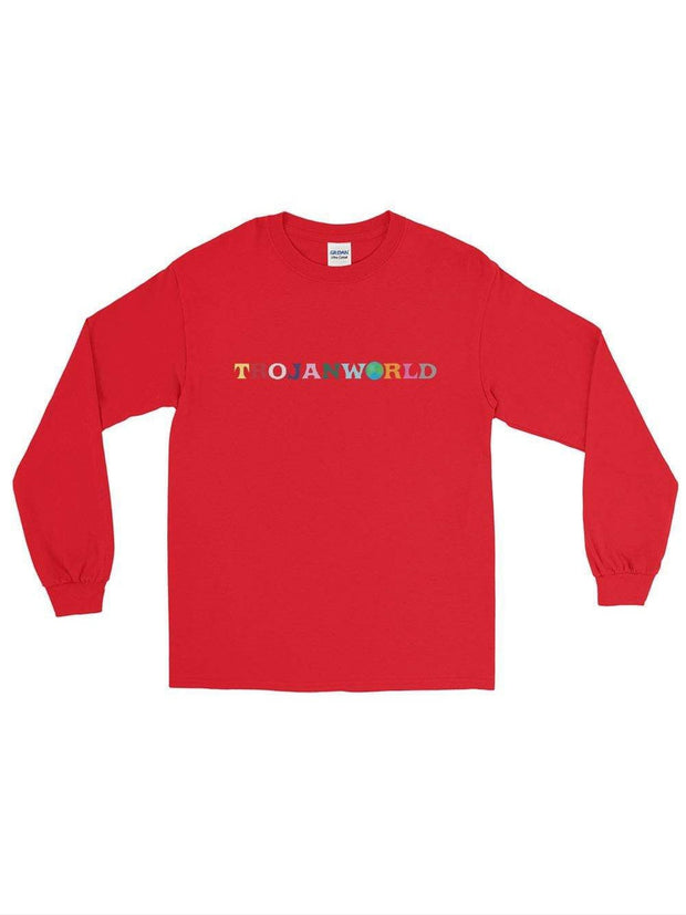 Trojanworld Long Sleeve Shirt (Dark Colors) - Geistwear