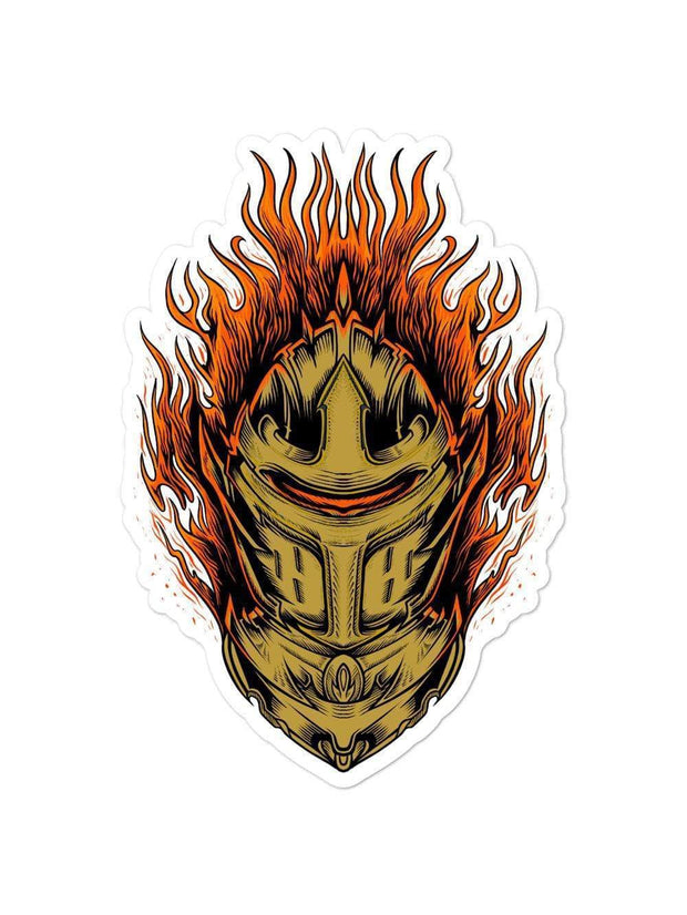 UCF Knights Flaming Knights Sticker - Geistwear