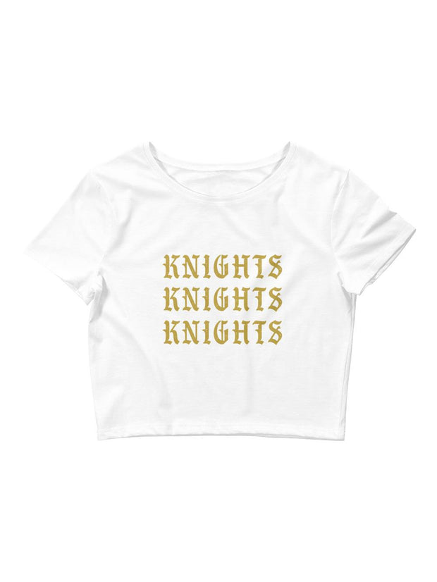 UCF Knights Vintage Crop Top - Geistwear