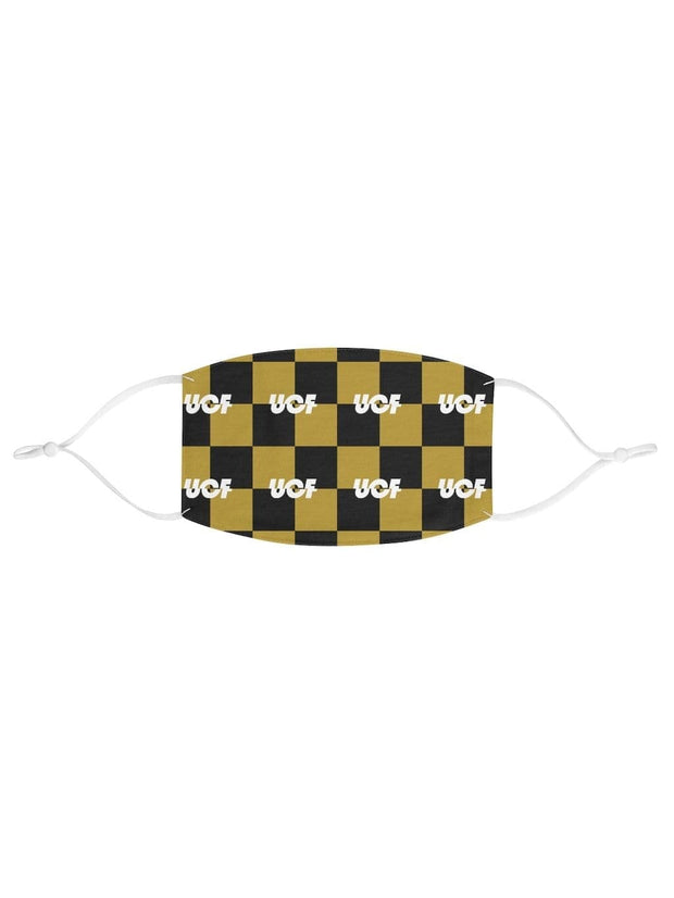 UCF Pattern Fabric Face Mask - Geistwear