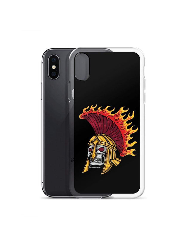 USC Flaming Trojan Skull iPhone Case - Geistwear