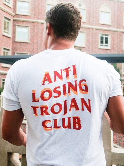 USC Trojans Anti Losing Trojan Club Pocket T-Shirt - Geistwear