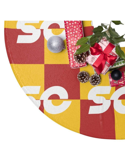 USC Trojans Christmas Tree Skirts - Geistwear
