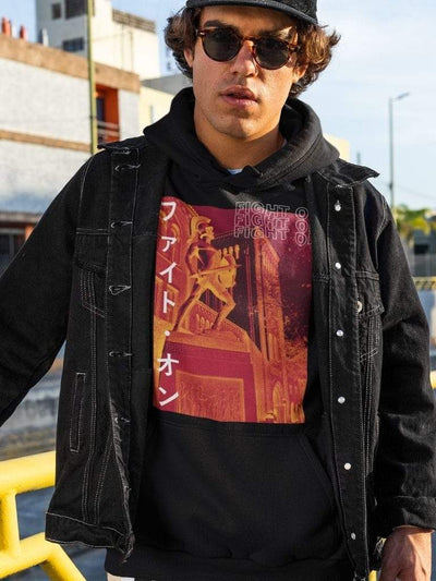 USC Trojans Fight On Katakana Hoodie - Geistwear