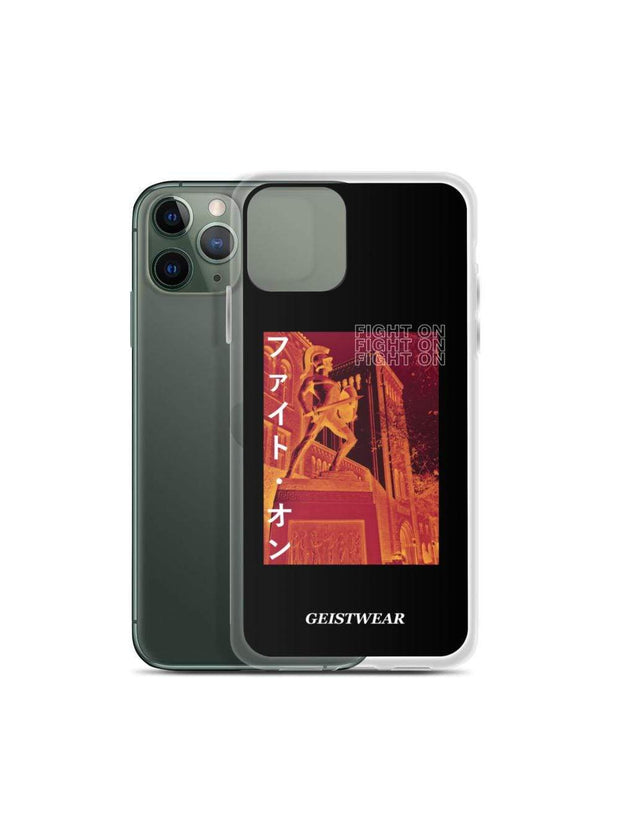 USC Trojans Fight On Katakana iPhone Case - Geistwear