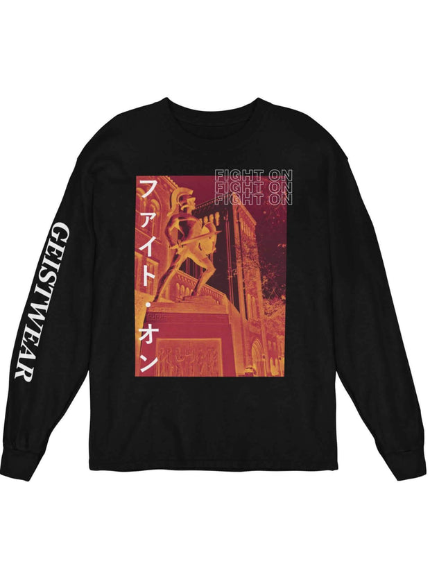 USC Trojans Fight On Katakana Sweatshirt - Geistwear