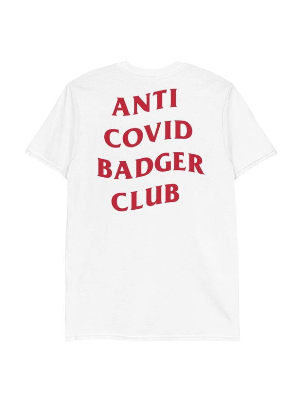 UW Badgers Anti Covid Badger Club T-Shirt - Geistwear