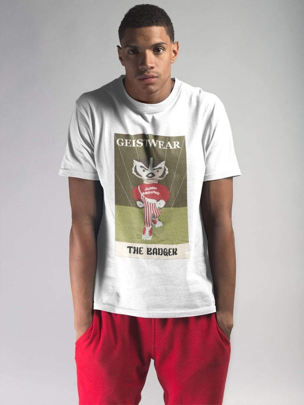 UW Badgers Tarot Card T-Shirt - Geistwear