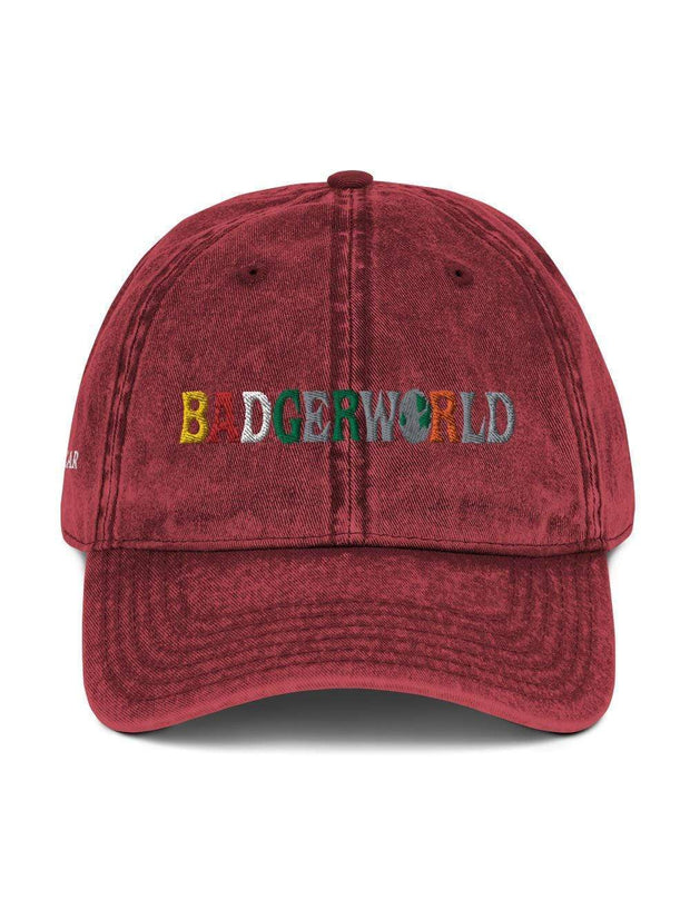 UW Madison Badgers Badgerworld Vintage Cap - Geistwear