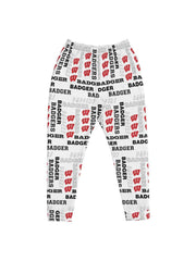 UW Madison Badgers Pattern Tracksuit Men's Sweatpants - Geistwear