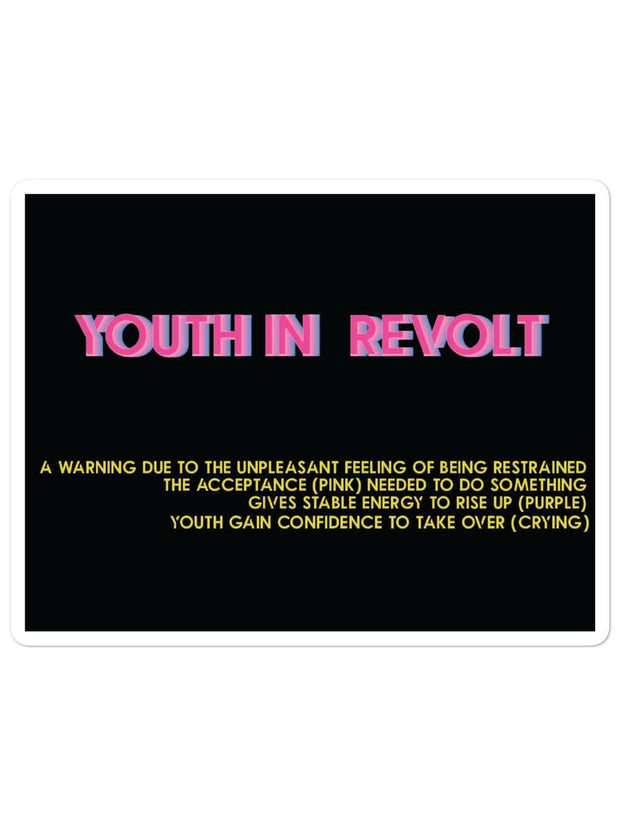 Youth In Revolt Stickers - Alternative (#BlackLivesMatter Special) - Geistwear