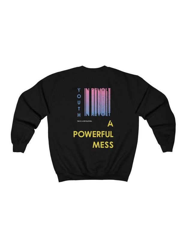 Youth In Revolt Sweatshirt (#BlackLivesMatter Special) - Geistwear