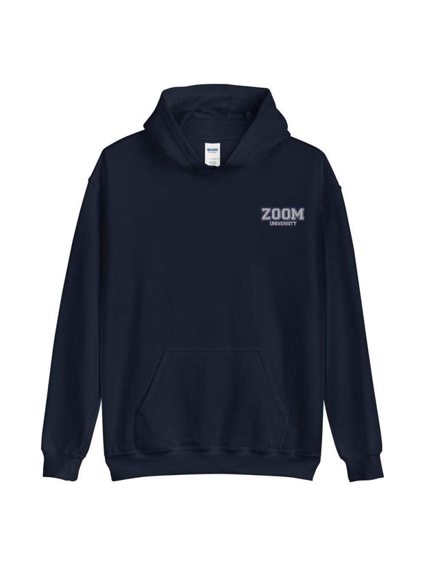 Zoom University Embroidered Hoodie - Geistwear