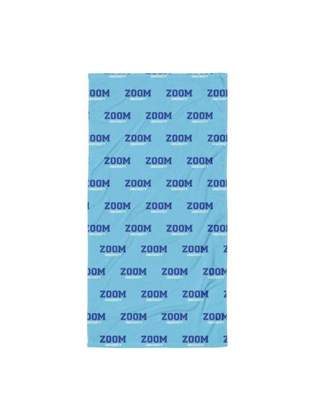 Zoom University Pattern Beach Towel - Geistwear