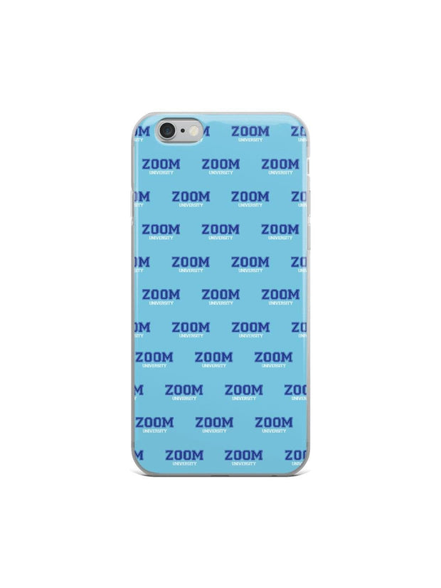 Zoom University Pattern iPhone Case - Geistwear