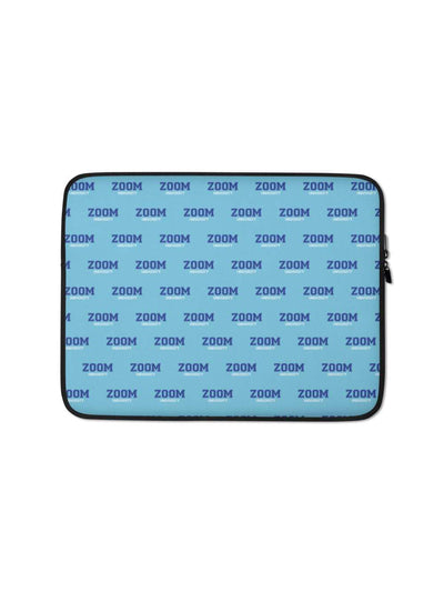 Zoom University Pattern Laptop Sleeve - Geistwear
