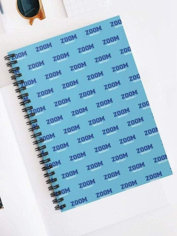 Zoom University Spiral Notebook - Geistwear