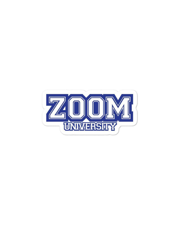 Zoom University Sticker - Geistwear