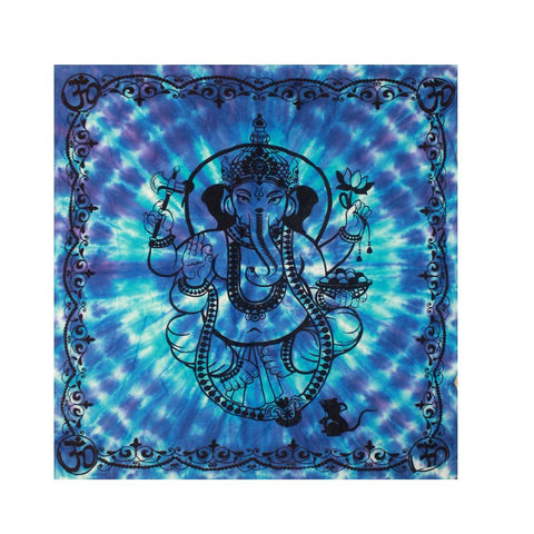 Tie Dye Ganesh Altar / Table Cloth