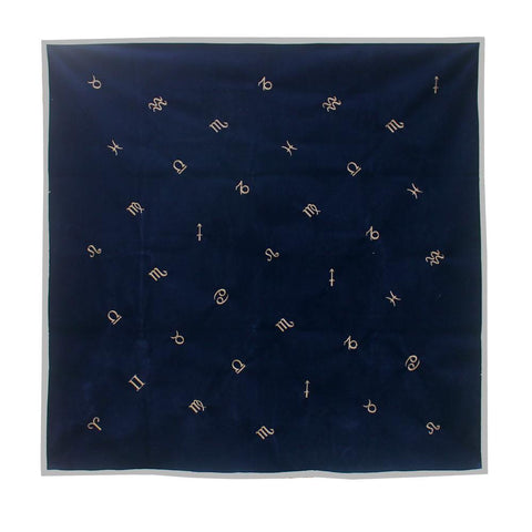 Velvet Zodiac Altar/ Table Cloth
