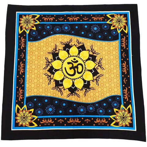 Om Altar/ Table Cloth
