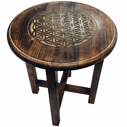 Flower Of Life Altar Table/  Display Table