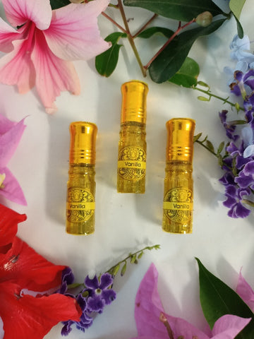Vanilla Perfume Oil 2.5ml