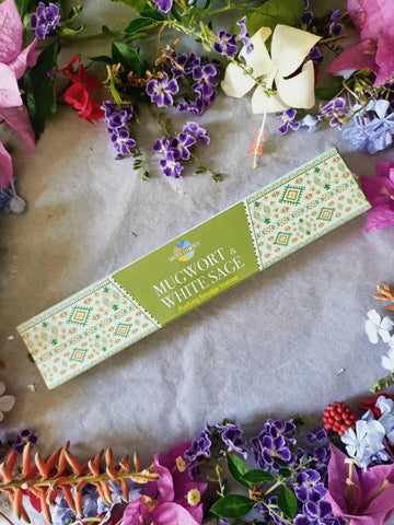 Mugwort & White Sage Smudge Incense